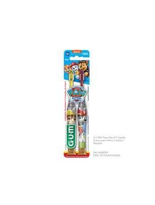 Gum Cepillo Dental Paw Patrol Suave Regular para Niños