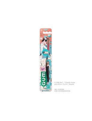 Gum Cepillo Dental Regular Suave para Niños Bia