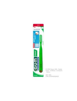 Gum Cepillo Dental Classic 409  Suave Compacto
