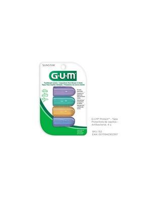 Gum Tapa Protectora Antibacterial de Cepillos Pack x 4 un