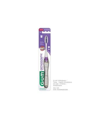 Gum Cepillo Dental Antibacterial Ortodóntico de viaje