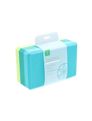 Bloque Yoga Teal Tonal 23 x 15