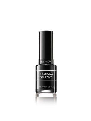 Esmalte ColorStay Gel Envy Longwear Nail Enamel Black Jack x 11