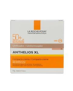 Anthelios XL Protector Solar Crema Compacto Tono Dorado FPS 50+ 9 gr