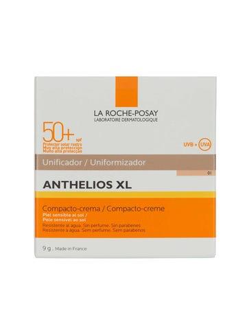 Anthelios XL Protector Solar Crema Compacto Tono Claro FPS 50+ 9 gr