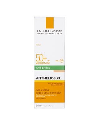 Anthelios XL Protector Solar Facial Gel Crema Toque Seco Color SPF 50+ 50 ml