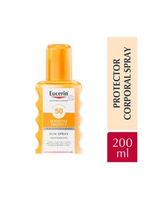 Sun Body Spray Transparente FPS 50+ x 200 ml