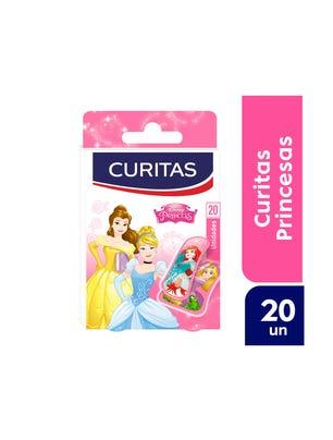 Curitas Aposito Adhesivo con Diseño Princess 20 un