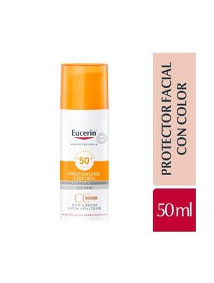 Sun Face CC Cream con color FPS50+ x50 ml (VENC 09/21)