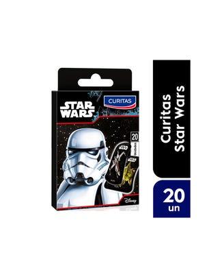 Curitas Aposito Adhesivo con Diseño Star Wars 20 un