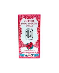 Oleum Orgánico Facial Corporal Rosa Mosqueta 30 ml