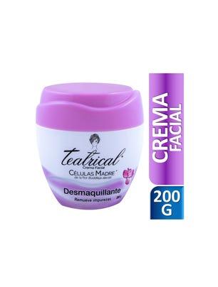 Crema Facial Desmaquillante 200 gr
