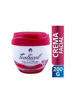 Crema Facial Antiarrugas 200 gr