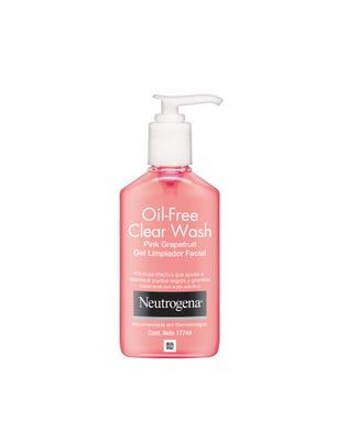 Gel Limpiador Facial Oil Free Clear Wash x 177 ml.