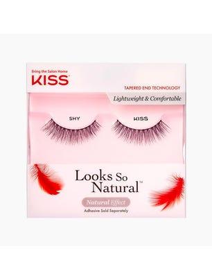 Impress Nails Kit de Pestañas Postizas Looks So Natural Single Lash Shy