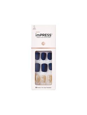 Impress Nails Kit de Uñas Postizas Diseño Wannabe Star
