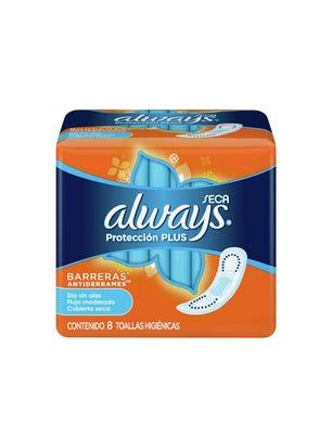 Toallitas Femeninas Protección Plus Seca