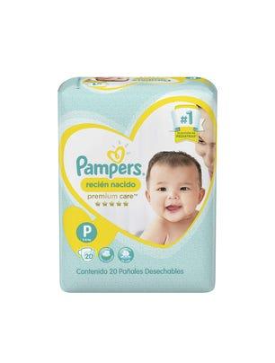 Pañales Recién Nacido Premium Care P x 20 Un 1