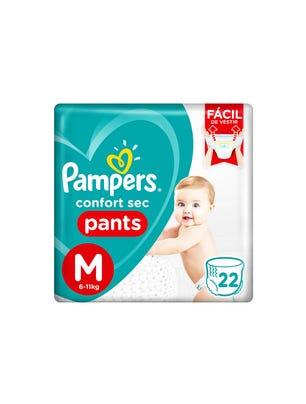 Pañales Confort Sec Pants M 22 Un 1