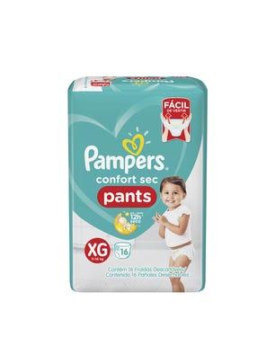 Pañales Confort Sec Pants XG 16 Un