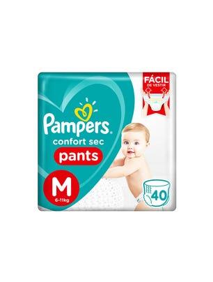Pañales Confort Sec Pants M 40 Un 1
