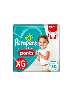 Pañales Confort Sec Pants XG 30 Un 1