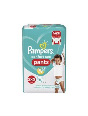 Pañales Confort Sec Pants XXG 16 Un