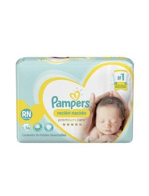Pañales Recién Nacido Premium Care RN 36 Un
