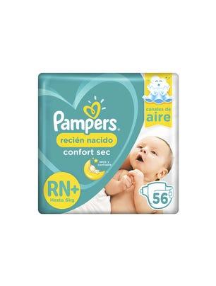 Pañales Recién Nacido Confort Sec RN+ 56 Un 1