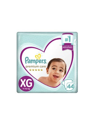 Pañales Premium Care XG 44 Un 1