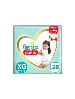Pañales Premium Care Pants XG 26 Un 1