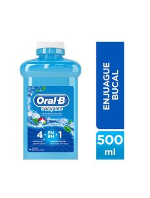 Enjuague Bucal Complete 4en1 Menta Refrescante 500 ml