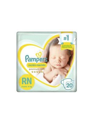 Pañales Recién Nacido Premium Care RN 20 Un 1