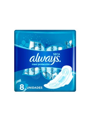 Toallitas Femeninas Maxi Protección Seca