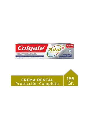 Crema Dental Total 12 Professional Reparación Diaria 162 gr