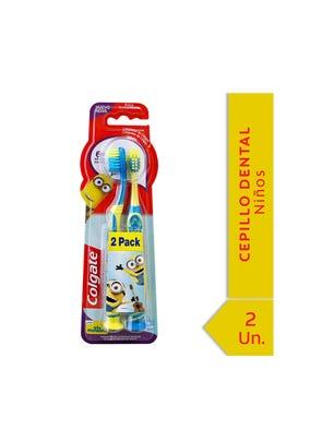 Cepillo Dental Smiles Minions Pack 2x1