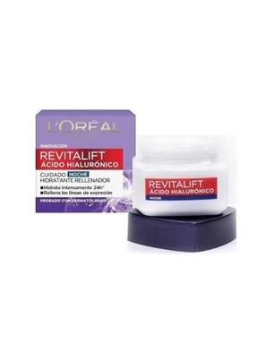 Crema de Noche Revitalift Ácido Hialurónico 50 ml