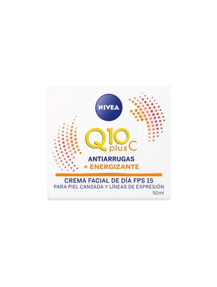 Crema Facial Q10 + Plus C Día FPS15 50ml