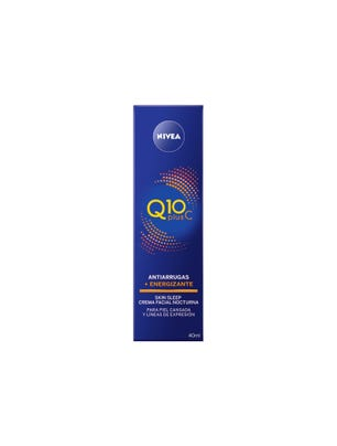 Crema Facial Q10 + Plus C Noche 40ml