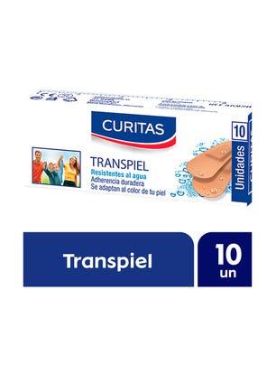 Curitas Aposito Adhesivo Transpiel 10 un