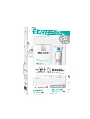 Rutina Antiedad Hidratante Hyalu B5 Serum 30ml & Toleriane