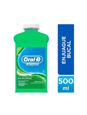 Enjuague Bucal Complete Menta Natural 500 ml