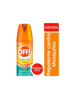 Off! Repelente para Mosquitos Smooth and Dry Seco 144ml