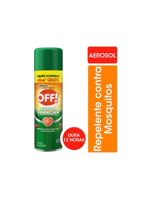 Off! Repelente para Mosquitos Extra Duración Aerosol 300ml