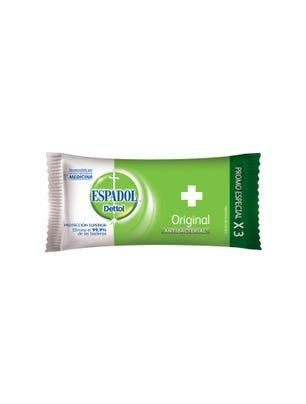 Jabón de Tocador Antibacterial Original 90 gr x 3 un