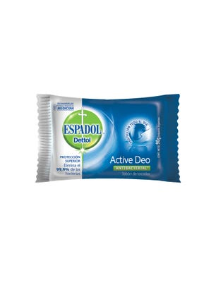 Jabón de Tocador Antibacterial Active Deo 90 gr