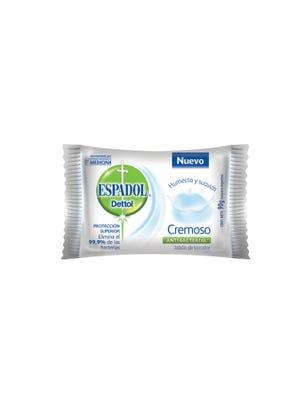 Jabón de Tocador Antibacterial Cremoso 90 gr