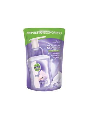 Jabón en Espuma Antibacterial Vainilla 225 ml