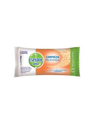 Jabón de Tocador Antibacterial Exfoliante 90 gr xx 3 un