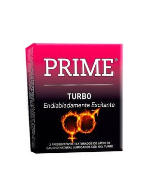 Prime Preservativos de Látex Turbo Caja 3 un